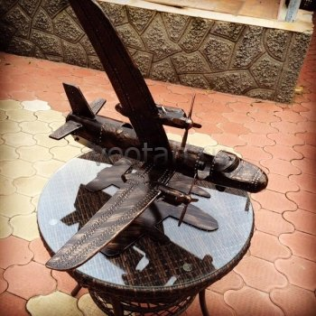 Кованый подарок #011 (винница/минибар в виде самолёта АН-24)