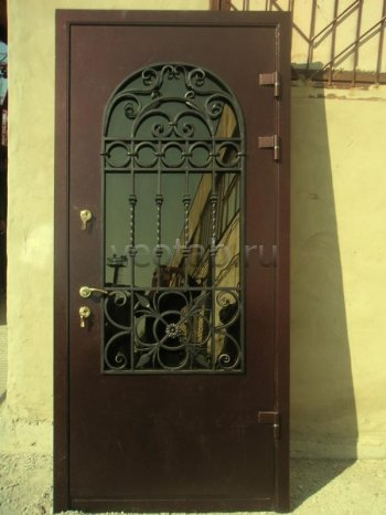 Кованые двери #3