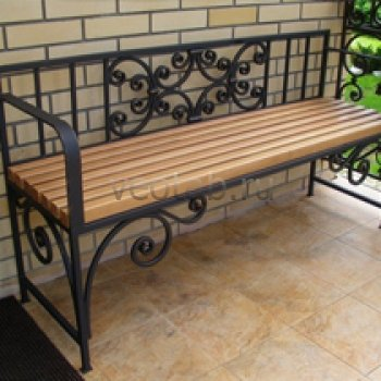 Садовая скамейка #0018