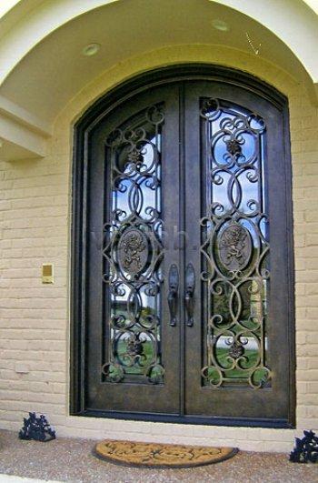 Кованые двери #7