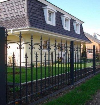 Забор кованый #0005