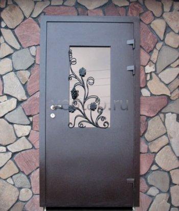 Кованые двери #001