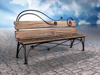 Садовая скамейка #0000106