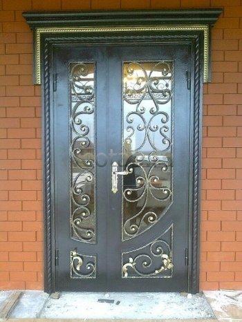 Кованые двери #002