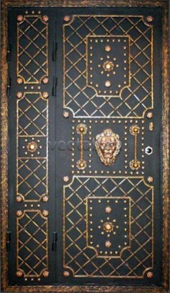 Кованые двери #018