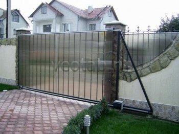 Ворота откатные  #12