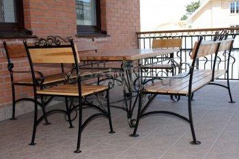 Кованая мебель для дачи #11