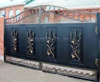 Ворота кованые #071