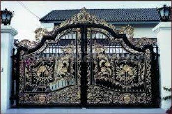 Ворота кованые #044