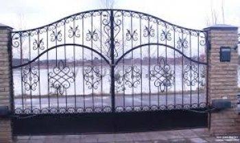 Ворота распашные #004