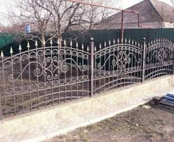 Забор кованый #0020