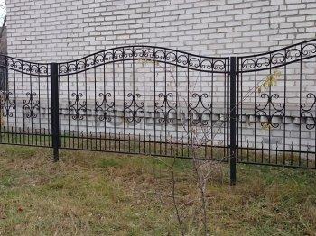 Заборы металлические #51