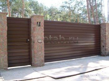 Ворота откатные  #3