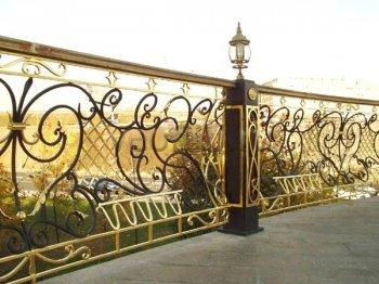 Кованый забор #9