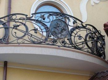 Кованые балконы #0004