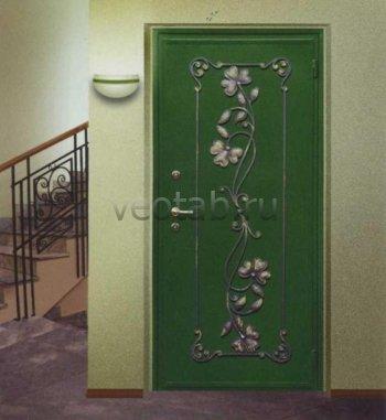 Кованые двери #021