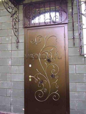Кованые двери #15