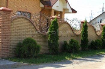 Забор кованый #0008