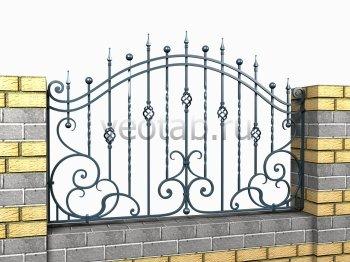 Кованый забор #3