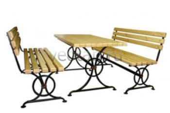 Садовая скамейка #00118 (комплект)