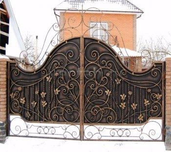 Ворота кованые #069