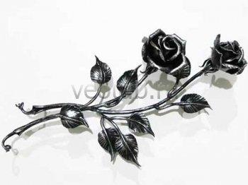 Кованый подарок #017 (роза кованая 2шт.)