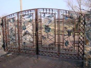 Ворота кованые #005