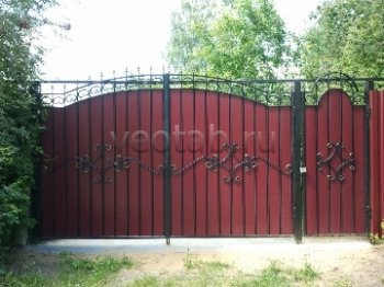 Ворота распашные  #13