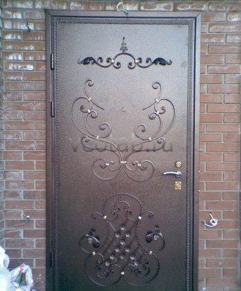 Кованые двери #019