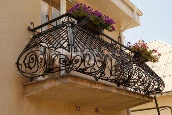Кованые балконы #0005