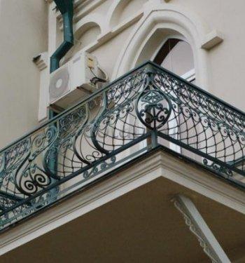 Кованые балконы #0008