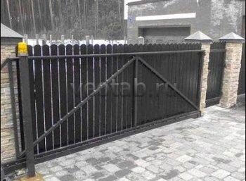 Ворота откатные  #5