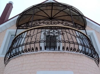 Кованые балконы #0006