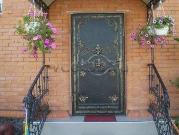 Кованые двери #010