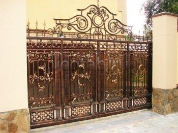 Ворота кованые #006