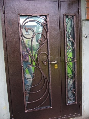 Кованые двери #17
