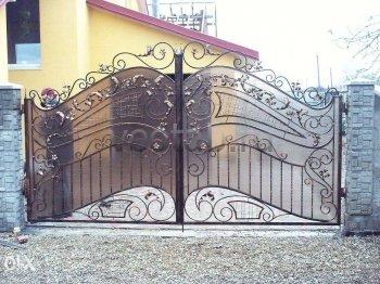 Ворота кованые #012
