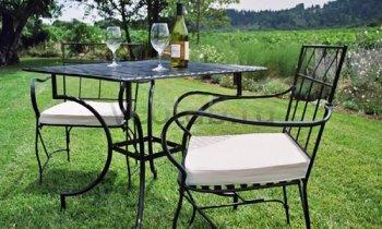 Кованая мебель для дачи #0004