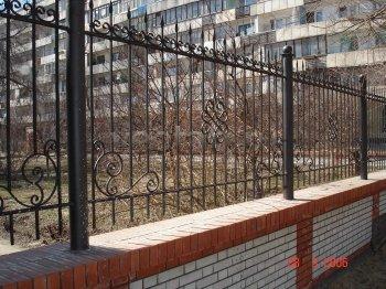 Забор кованый #0013