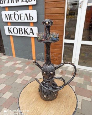 """Кованый подарок #085 """"Кальян"""" (Винница/шкатулка/мини-бар)"""