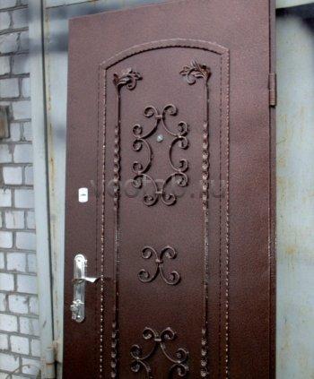 Кованые двери #020