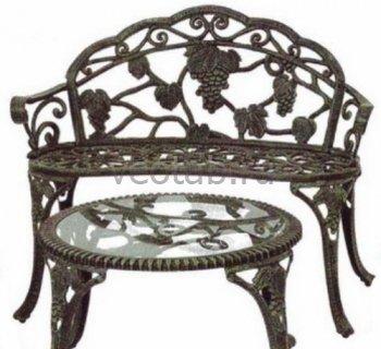 Кованая мебель для дачи #13