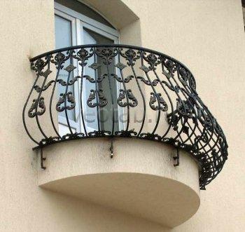 Кованые балконы #17