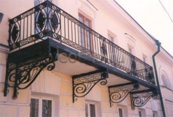 Кованые балконы #18