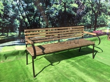 Садовая скамейка #00110
