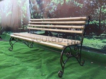Садовая скамейка #0000109