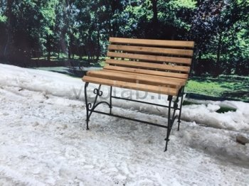 Садовая скамейка #00000123