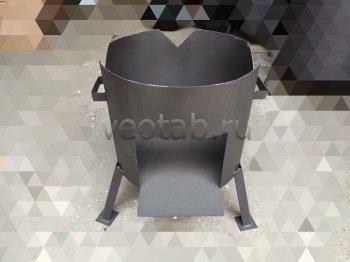 Купить печь #1001-2мм. под казан 10л. без дверцы