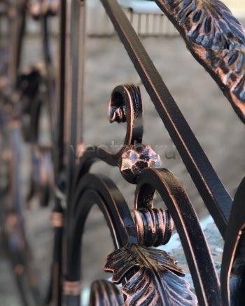 Перила, ограждения кованые #024