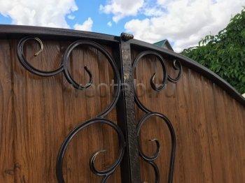 Ворота распашные #010